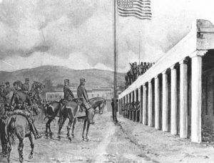 Capture of Santa Fe, New Mexico during the Mexican-American War