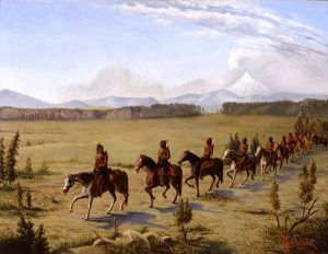 Cherokee horsemen of Texas