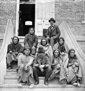 Cheyenne prisoners in Dodge City, Kansas