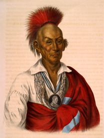 Chief Black Hawk, W. Greenough