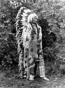 Cayuse Chief Umapine, by Joseph Kossuth Dixon, 1913