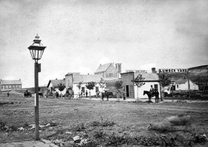 Council Grove, Kansas about 1875.
