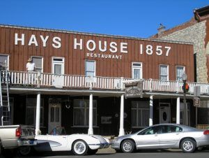 The Hays House is the oldest operating restaurant west of the Mississippi River