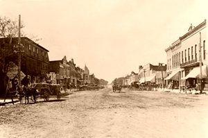 Council Grove, Kansas about 1885