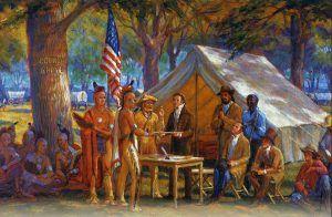 Council Oak Treaty, Council Grove, Kansas