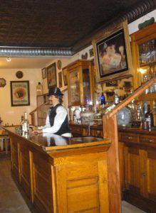 Desert John's Saloon Museum Interior