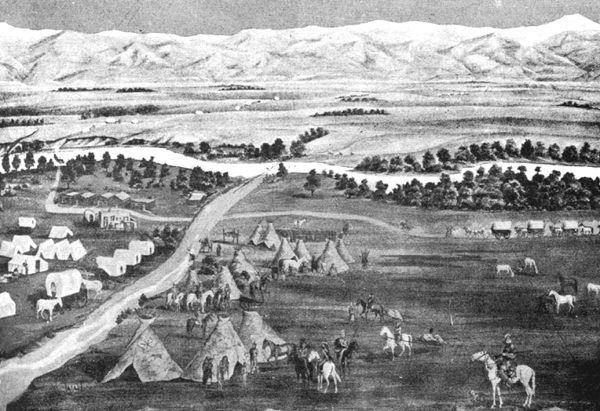 Early Denver, Colorado, 1859