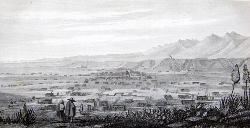 Santa Fe, New Mexico in 1847.