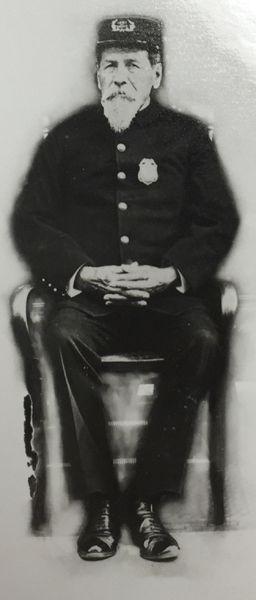 """Edward """"Ned"""" Bushyhead, San Diego Chief of Police"""