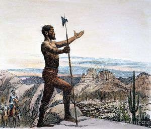 Estevanico came to America with the Spaniards and was probably the first African in what is now the United States.