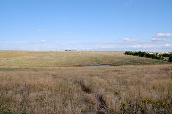"Santa Fe Trail near ""The Caches"" in Ford County, Kansas"