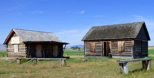 Fort Connah, Montana courtesy Fort Wiki