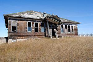 Gascoyne, North Dakota School