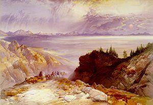 Great Salt Lake by Thomas Moran