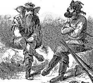 Depiction of Notorious Harpe Brothers