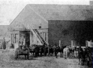 Hayes Frame Store, Council Grove, Kansas 1868
