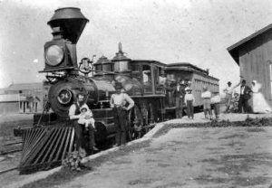 Hays, Kansas train