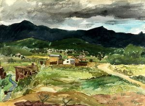 Arroyo Hondo, New Mexico by Morris Blackburn, 1959