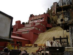 Argo Mill at Idaho Springs, Colorado