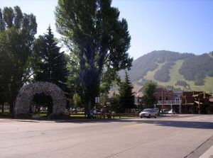 Jackson, Wyoming by Kathy Weiser