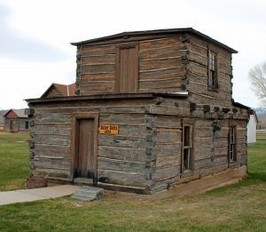 Jim Baker Cabin in Savery, Wyoming