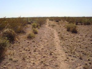 Jornada Del Muerto on the Cimarron Route of the Santa Fe Trail, photo courtesy National Park Service.