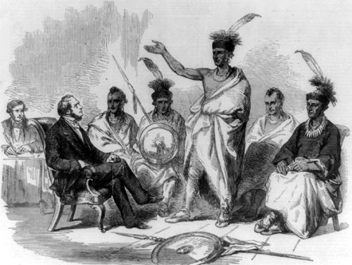 The Kanza or Kaw Indians
