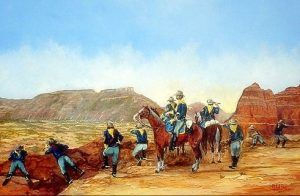Mackenzie's Raiders at Palo Duro by Michael Gray