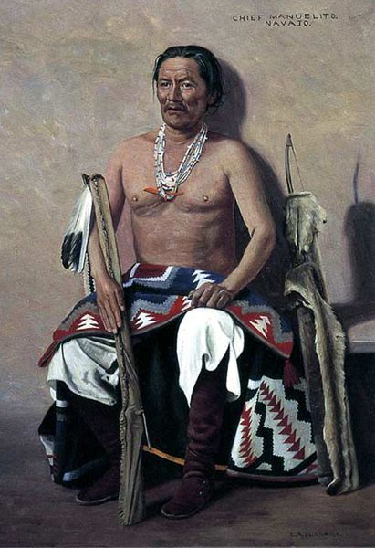 Manuelito Navajo War Chief Legends Of America