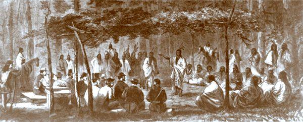 Medicine Lodge, Kansas Treaty Council
