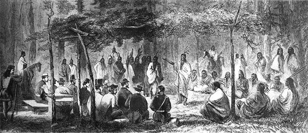 Indian Battles in Kansas – Legends of America