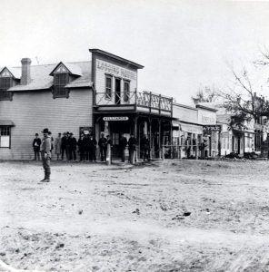 Miles City, Montana in 1881