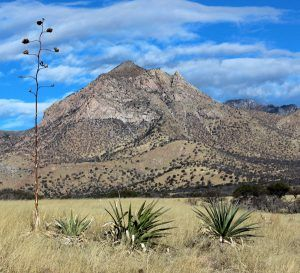 Montezuma Peak at the Coronado National Memorial in Arizona by Katy Hooper, National Park Service