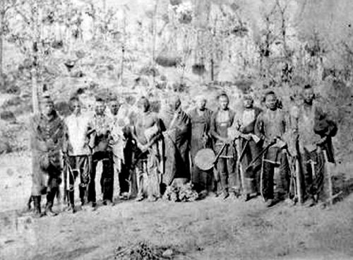Osage Chiefs in Indian Territory