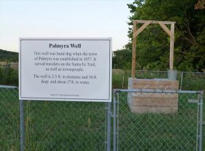 Palmyra Well, Baldwin City, Kansas