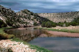 Pecos River in New Mexico