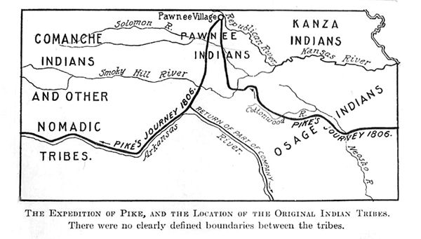 Zebulon pike route
