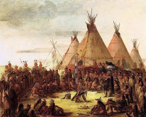 Plains Tribes by George Catlin