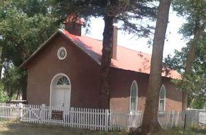 Church in Rayado, New Mexico courtesy Maxwell, NM