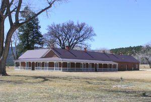 Lucien Maxwell House at Rayado, New Mexico courtesy Rocky Mountain Profiles
