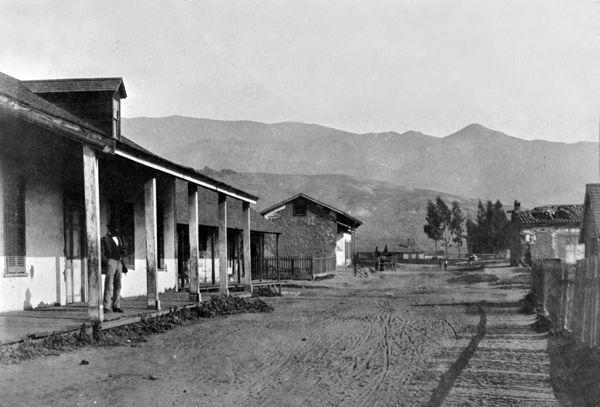 Early Santa Barbara, California