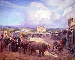 The Santa Fe Trail ends in Santa Fe, New Mexico