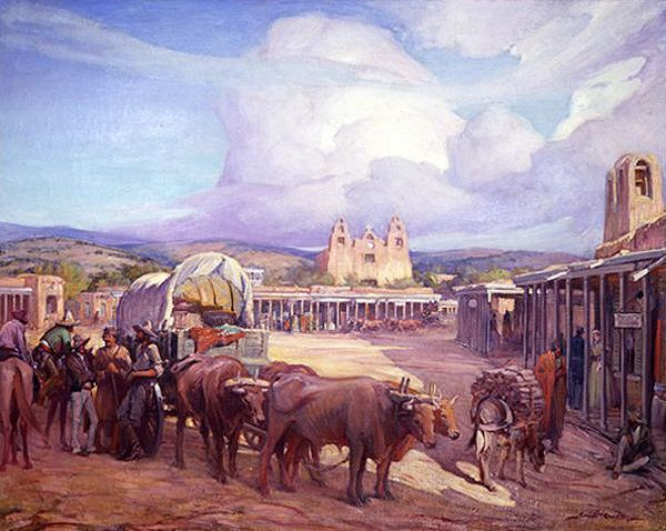 The Santa Fe Trail ends in Santa Fe, New Mexico