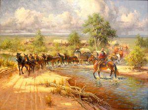 Santa Fe Trail in Cimarron County, Oklahoma