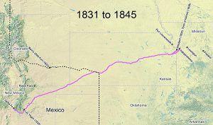 Santa Fe Trail 1831-1845