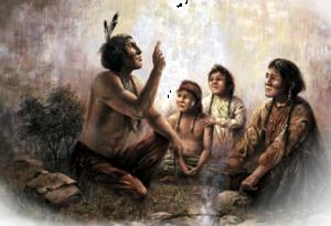 Indian Storyteller