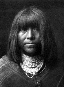 Ta'thamiche, a Hualapai Indian by Edward Curtis, 1907