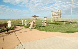 Santa Fe Trail ruts near Dodge City, Kansas