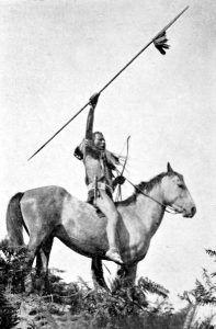 Yakama Warrior, by Lucullus Virgil McWhorter, 1913