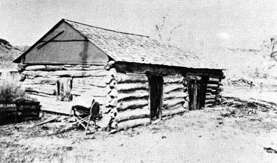 Brown's Hole cabin